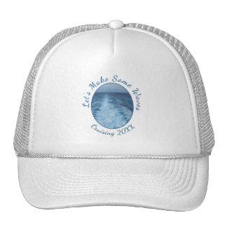 Make Some Waves Cruising Dated Trucker Hat