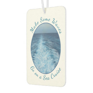 Make Some Waves Sea Cruise Air Freshener
