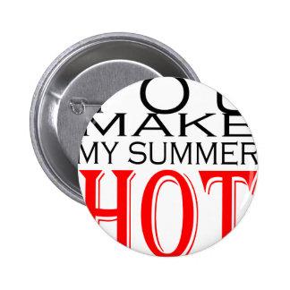 make summer hot flirt teenage memory hot black bea 2 inch round button