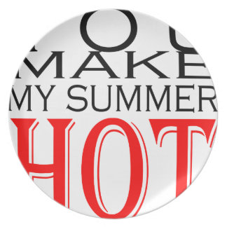 make summer hot flirt teenage memory hot black bea plate