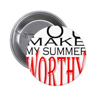 make summer worthy flirt teenage memory hot black 2 inch round button