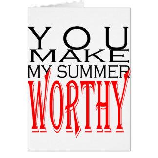 make summer worthy flirt teenage memory hot black card