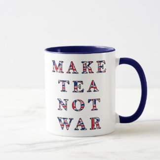Make Tea Not War Mug