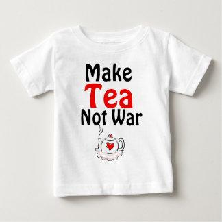 Make Tea Not War T-shirts