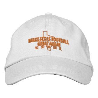 Make Texas Football Great Again Baseball Cap