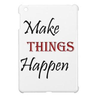 Make Things Happen iPad Mini Covers