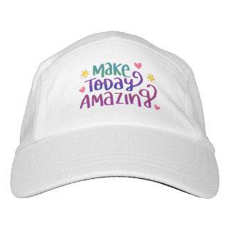 Make Today Amazing Inspirational Greeting Hat