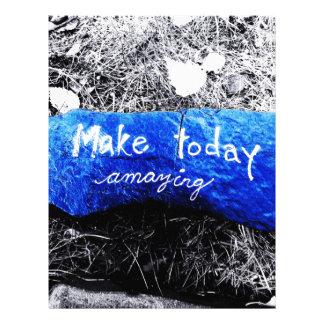 Make Today Amazing Letterhead