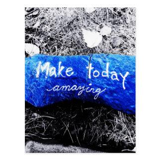 Make Today Amazing Postcard