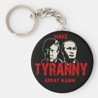 Make tyranny great again basic round button keychain