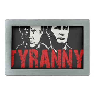 Make tyranny great again belt buckle