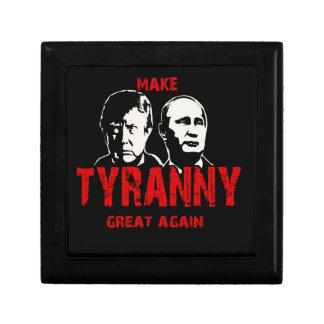 Make tyranny great again keepsake box