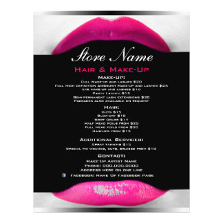 Makeup Artist Promotional Flyers, Makeup Artist Promotional Flyer ...