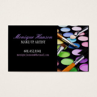 Make-Up Artist Business Card