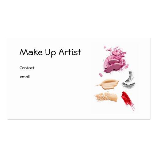 Make Up Artist Modèle De Carte De Visite