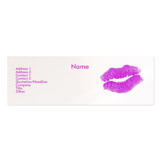 """Make-up Artist"" I Profile Card - Customizable Mini Business Card"