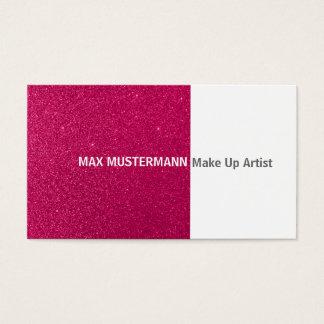 Make up artiste carte de visite