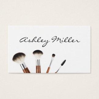 Make Up Brushes Professional Make Up Artist Business Card
