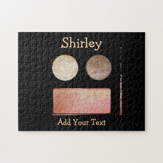 Make-Up Palette-Face by Shirley Taylor Jigsaw Puzzle