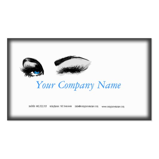 Make-up Specialist Business Card Template