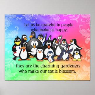 Make Us Happy -- Happiness Quote Art Print