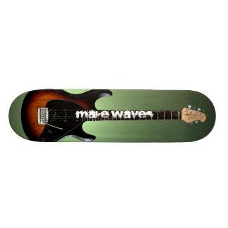 Make Waves Guitar Slinger Skateboard