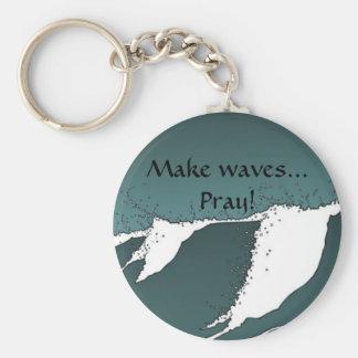 Make waves keychain