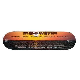 Make Waves Ltd. and Numbered South Bay Sidewalk Su Skate Decks
