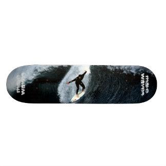 Make Waves Morning Surf Skateboard