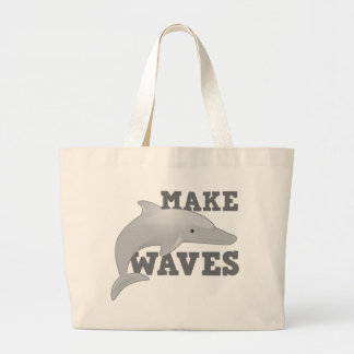 MAKE WAVES with dolphin Bags