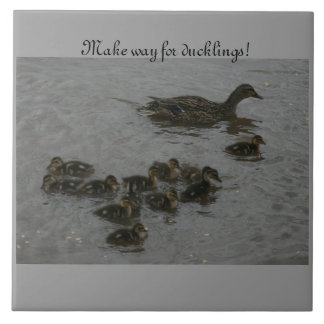 Make Way for ducklings! Tile