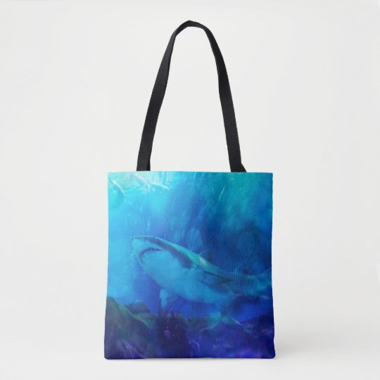 Make Way for the Great White Shark King Tote Bag