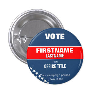 Make your campaign button with stars