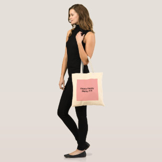 make your day happier :) tote bag