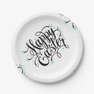 Make your Easter party memorable 7 Inch Paper Plate