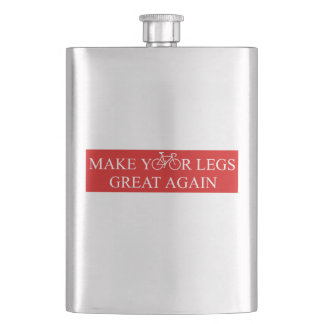 Make Your Legs Great Again Hip Flask