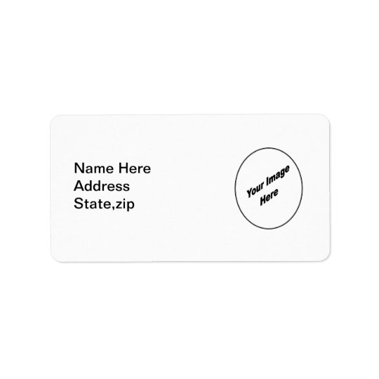 Make Your One Of A Kind Address Label