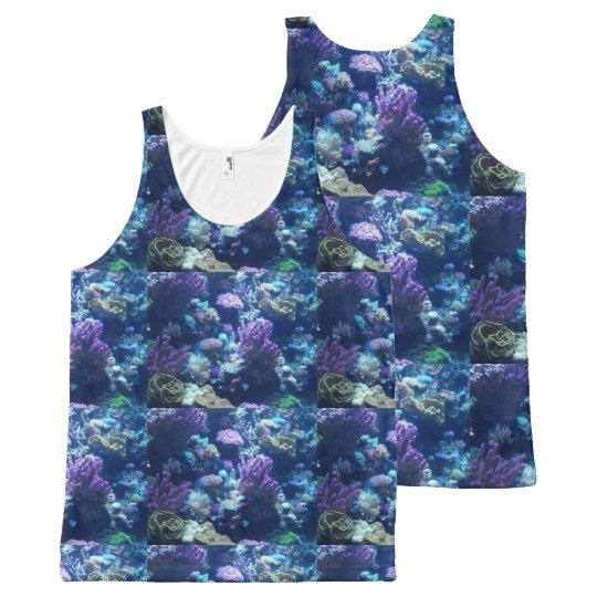 Make your own ALLOVER print tanktop