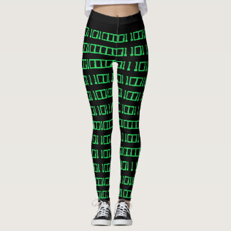 Make your own binary leggings