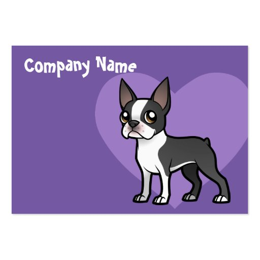 Make Your Own Cartoon Pet Business Cards
