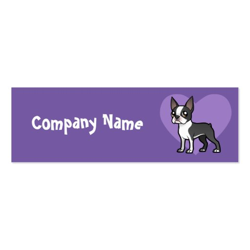 Make Your Own Cartoon Pet Business Card Template