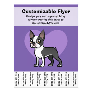 Make Your Own Cartoon Pet Flyer Design