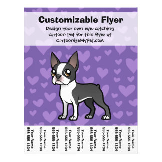 Make Your Own Cartoon Pet Full Color Flyer