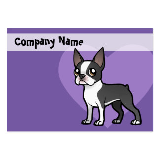 Make Your Own Cartoon Pet Large Business Card