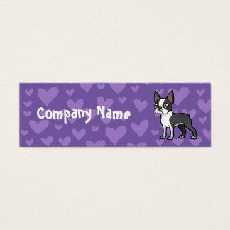 Make Your Own Cartoon Pet Mini Business Card