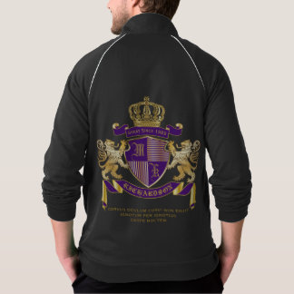 Make Your Own Coat of Arms Monogram Crown Emblem Jacket