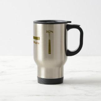 Make Your Own  Construction Travel Mug