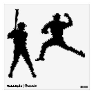 Make Your Own Custom Baseball Wall Decals