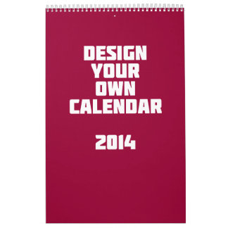 Make it yourself calendars make it yourself calendar make your own custom calendar 2014 solutioingenieria Images