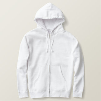 Make Your Own Custom Embroided Mens Zip Hoodies